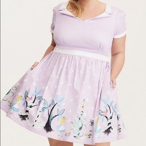 Alice in Wonderland tea party dress torrid